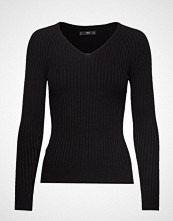 Mango Ribbed Knit Sweater Strikket Genser Svart MANGO