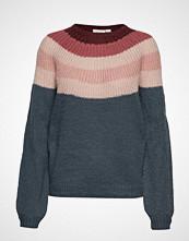 Saint Tropez U2011, Knit Pullover Long Sleeevs Strikket Genser Multi/mønstret SAINT TROPEZ