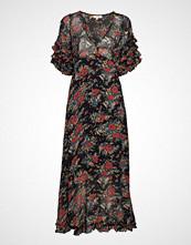 by Ti Mo Semi Couture Midi Dress Knelang Kjole Multi/mønstret BY TI MO