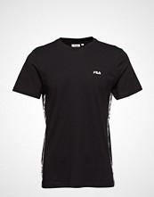 FILA Talan Tee Ss T-shirts & Tops Short-sleeved Svart FILA