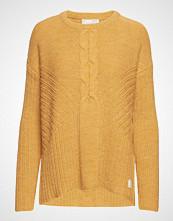 Odd Molly Harmony Play Sweater Strikket Genser Gul ODD MOLLY