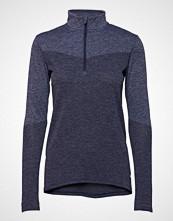 Puma Golf W Evoknit 1/4 Zip T-shirts & Tops Long-sleeved Blå PUMA GOLF