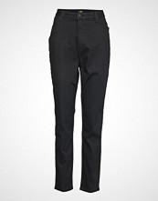 Lee Jeans Scarlett High Bukser Med Rette Ben Svart LEE JEANS
