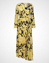 Stine Goya Brittany, 517 Hortensia Silk Maxikjole Festkjole Gul STINE GOYA
