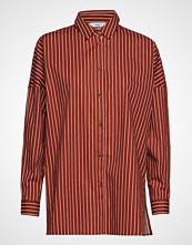 Minimum Cabrina Langermet Skjorte Rød MINIMUM