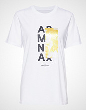 Armani Exchange Ax Woman T-Shirt T-shirts & Tops Short-sleeved Hvit Armani Exchange
