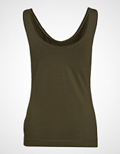 Soft Rebels Elle Tanktop T-shirts & Tops Sleeveless Grønn SOFT REBELS