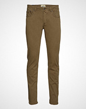 Morris James Textured 5pkt Slim Jeans Beige MORRIS