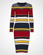 Gant D1. Rib Knitted Dress Knelang Kjole Multi/mønstret GANT