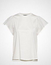 Weekend Max Mara Cerchio T-shirts & Tops Short-sleeved Hvit Weekend Max Mara