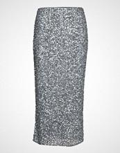 Andiata Siralie Long Sequin Skirt Blyantskjørt Skjørt Grå ANDIATA