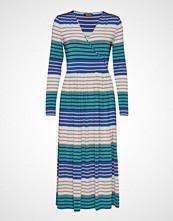 Stine Goya Alina, 623 Light Jersey Knelang Kjole Multi/mønstret STINE GOYA