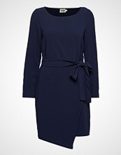 Twist & Tango Adele Dress Blackish Blue Knelang Kjole Blå TWIST & TANGO