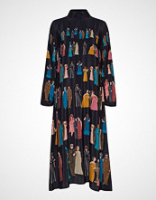 Stine Goya Millie, 663 Silk Placements Maxikjole Festkjole Multi/mønstret STINE GOYA