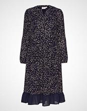 Saint Tropez U6009, Woven Dress L/S Knelang Kjole Grå SAINT TROPEZ