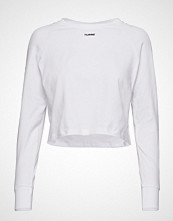 Hummel Hive Hmlamalie T-Shirt L/S T-shirts & Tops Long-sleeved Hvit HUMMEL HIVE