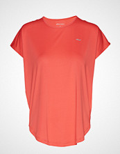 Röhnisch Leo Loose Top T-shirts & Tops Short-sleeved Rosa RÖHNISCH