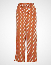 Only Onlnova Lux Palazzo Pant Aop 7 Wvn Vide Bukser Oransje ONLY