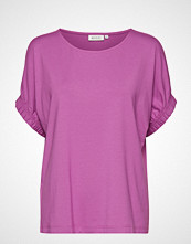 Masai Delia Top T-shirts & Tops Short-sleeved Lilla MASAI