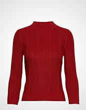 Mango Ribbed Sweater Strikket Genser Rød MANGO