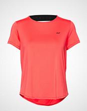 Röhnisch Deep Back Tee T-shirts & Tops Short-sleeved Rød RÖHNISCH