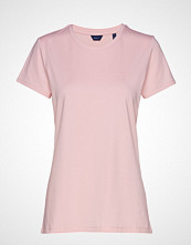 Gant Cott/Ela C-Neck Ss T-Shirt T-shirts & Tops Short-sleeved Rosa GANT