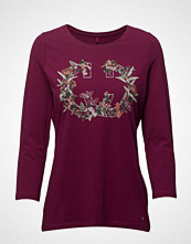 Gerry Weber Edition T-Shirt 3/4-Sleeve R T-shirts & Tops Long-sleeved Rød GERRY WEBER EDITION