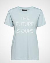 Storm & Marie Future-Tee T-shirts & Tops Short-sleeved Blå STORM & MARIE