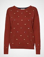 Edc by Esprit Sweaters Strikket Genser Rød EDC BY ESPRIT