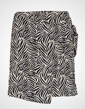 Mango Wrap Print Skirt Kort Skjørt Multi/mønstret MANGO