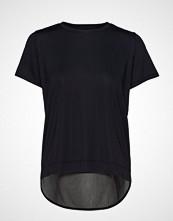 Röhnisch Mesh Back Tee T-shirts & Tops Short-sleeved Svart RÖHNISCH