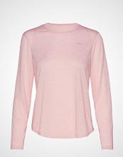 Röhnisch Sheer Long Sleeve Top T-shirts & Tops Long-sleeved Rosa RÖHNISCH