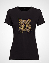 Marciano by GUESS Sparkling Tiger Tee T-shirts & Tops Short-sleeved Svart MARCIANO BY GUESS