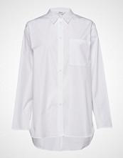 Filippa K Poplin Shirt Langermet Skjorte Hvit FILIPPA K