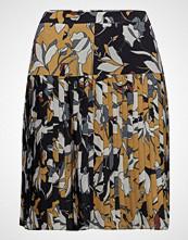 French Connection Aventine Drape Pleated Skirt Kort Skjørt Gul French Connection