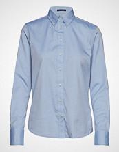 Gant Pinpoint Oxford Shirt Langermet Skjorte Blå GANT