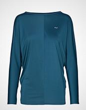 Röhnisch Drape Top T-shirts & Tops Long-sleeved Grønn RÖHNISCH