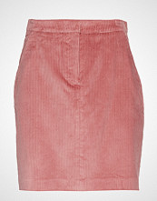 Gant D1. Wide Wale Cord Skirt Kort Skjørt Rosa GANT