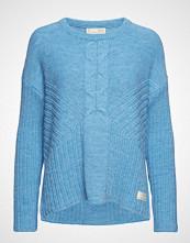 Odd Molly Harmony Play Sweater Strikket Genser Blå ODD MOLLY