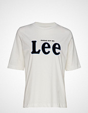 Lee Jeans Lee Tee T-shirts & Tops Short-sleeved Hvit LEE JEANS