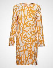 Bruuns Bazaar Grid Felia Dress Kort Kjole Gul BRUUNS BAZAAR