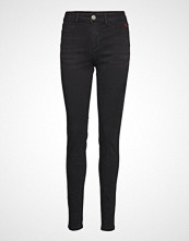 Desigual Denim Basic Skinny Jeans Svart DESIGUAL