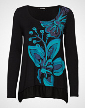 Desigual Ts Lena T-shirts & Tops Long-sleeved Svart DESIGUAL