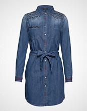 Desigual Vest Always Kort Kjole Blå DESIGUAL