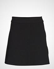 Cathrine Hammel Short Flare Skirt Kort Skjørt Svart CATHRINE HAMMEL
