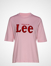 Lee Jeans Lee Tee T-shirts & Tops Short-sleeved Rosa LEE JEANS