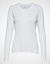 Adidas Performance Supernova Ls T T-shirts & Tops Long-sleeved Hvit ADIDAS PERFORMANCE