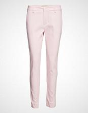 Mos Mosh Abbey Night Pant Bukser Med Rette Ben Rosa MOS MOSH