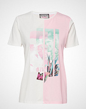 Desigual Ts Portrait T-shirts & Tops Short-sleeved Hvit DESIGUAL