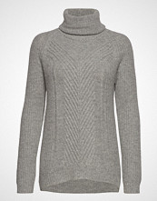 Andiata Hollie High Neck Chunky Knit Høyhalset Pologenser Grå ANDIATA